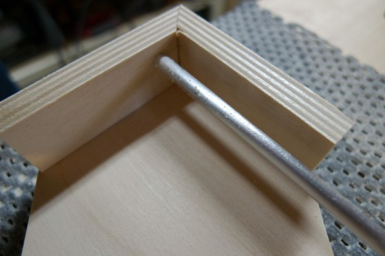 iPad Stand Bottom Detail