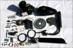 Zoom Bicycles  Limited Edition ZB 80cc Black Slant Engine Kit