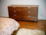 Bamboo and Walnut Dresser