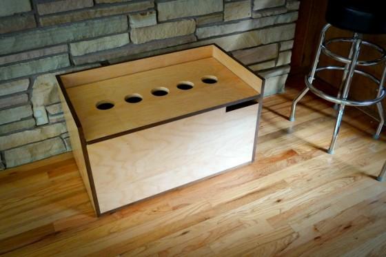 modern storage box
